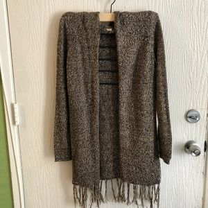 Sweaters - No Boundaries knit  Brown cardigans